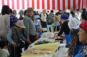 秋葉区産業祭(小須戸地区)